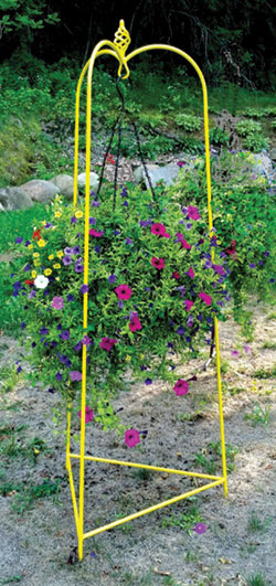 Ornate Hanging Basket Tripod #311